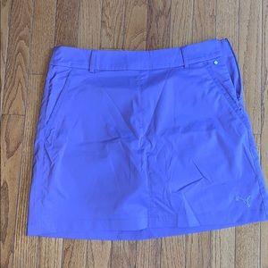 Purple puma golf skirt